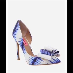 Limited Edition💎 !!! Betsy Johnson Pumps!!NWT